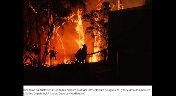 Incêndio na Austrália