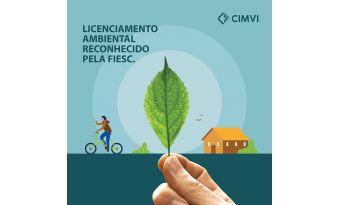 Licenciamento Ambiental reconhecido pela FIESC